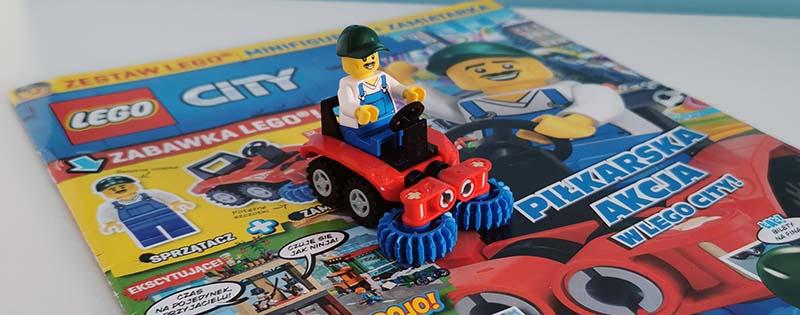 Magazyn Lego City 6/2021 recenzja