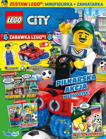 Magazyn Lego City 6/2021 okładka