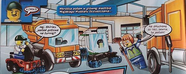 Magazyn Lego City 6/2021