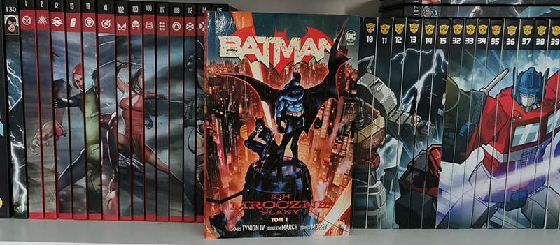Batman tom 1: Ich Mroczne Plany recenzja