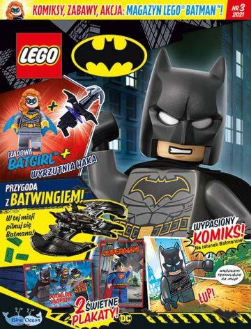 Magazyn Lego Batman 3/2021 okładka