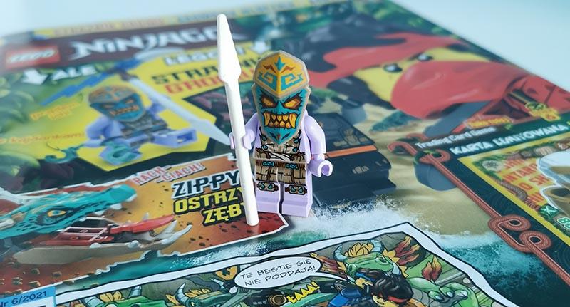 Magazyn Lego Ninjago 6/2021 recenzja