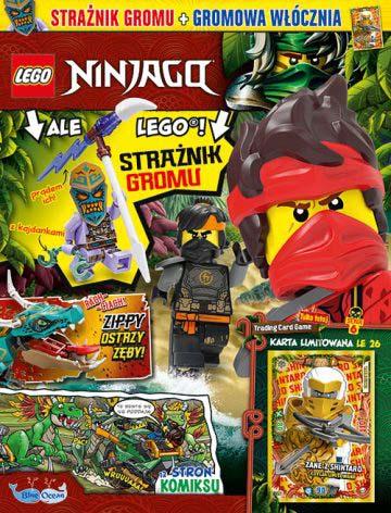 Magazyn Lego Ninjago 6/2021 okładka