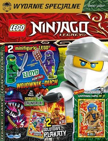Magazyn Lego Ninjago Legacy 3/2021 okładka