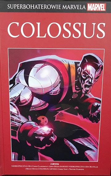 Superbohaterowie Marvela - Colossus okładka
