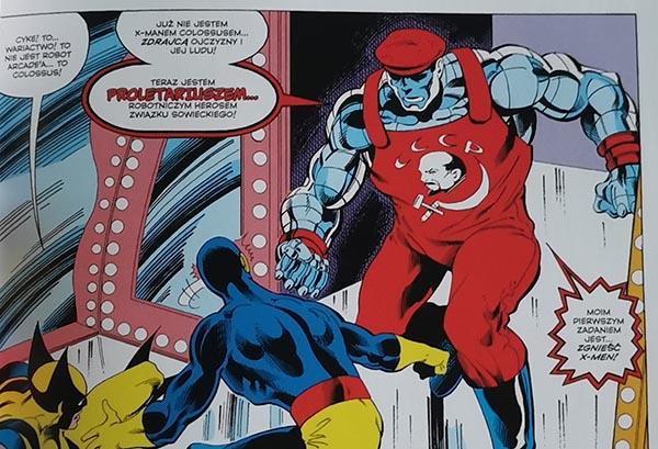 Superbohaterowie Marvela - Colossus