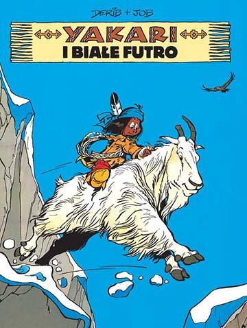 Yakari tom 11: Białe futro okładka