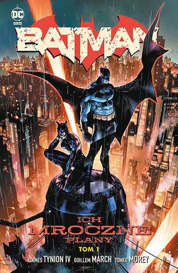 Batman tom 1: Ich Mroczne Plany okładka