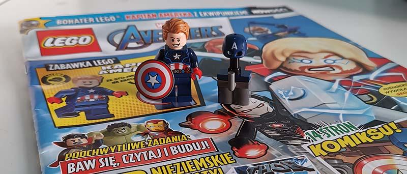 Magazyn Lego Avengers 3/2021 recenzja