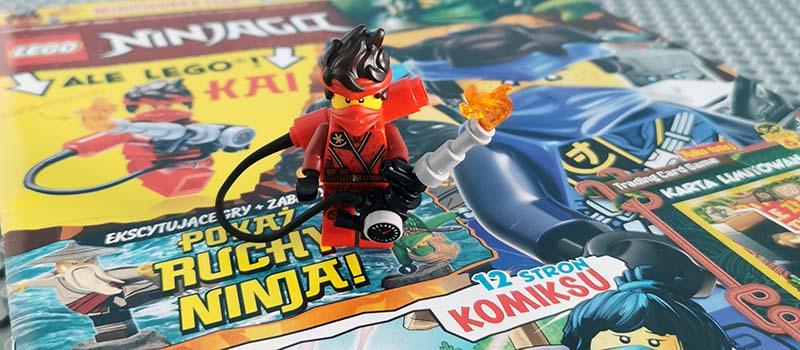 Magazyn Lego Ninjago 7/2021 recenzja