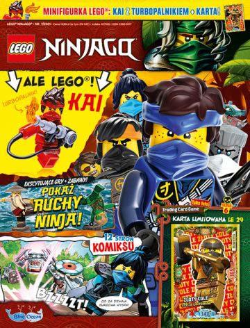 Magazyn Lego Ninjago 7/2021 okładka