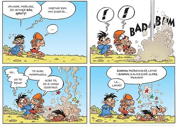 komiks Mali Bogowie tom 2: Upadek Ikara