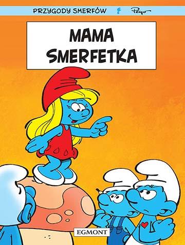 Smerfy tom 28 - Mama Smerfetka okładka