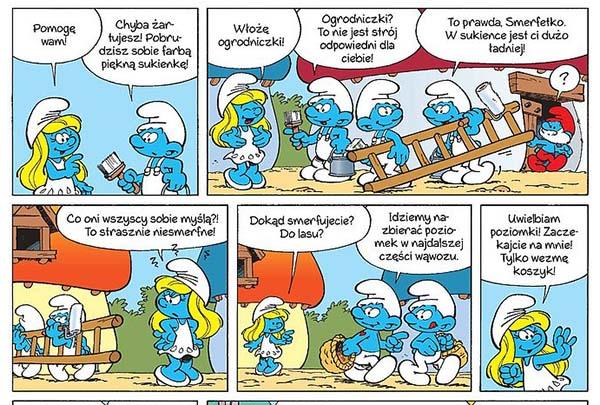 komiks Smerfy tom 28 - Mama Smerfetka
