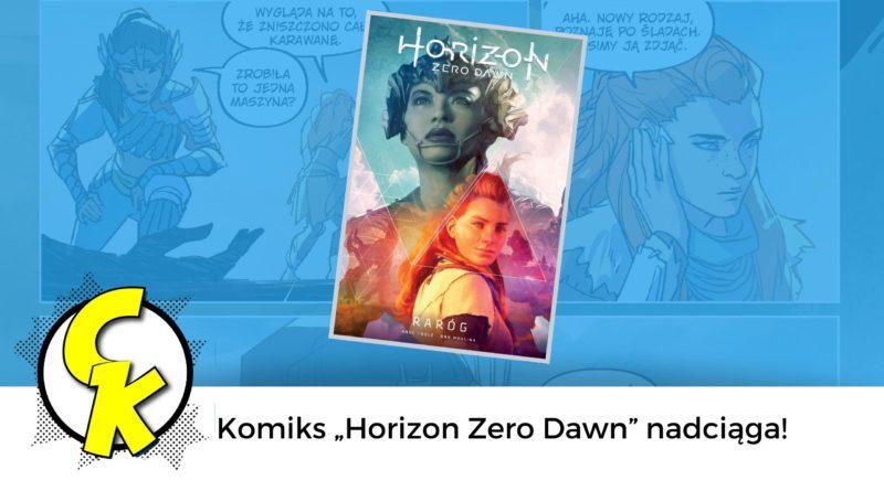 """Komiks """"Horizon Zero Dawn"""""""