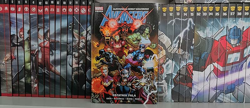 Avengers tom 1: Ostatnia Fala recenzja