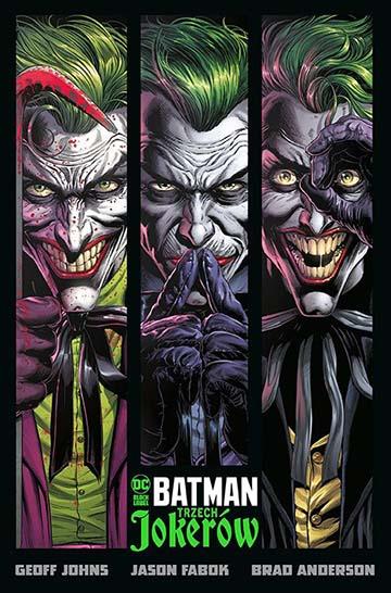 Batman: Trzech Jokerów okładka