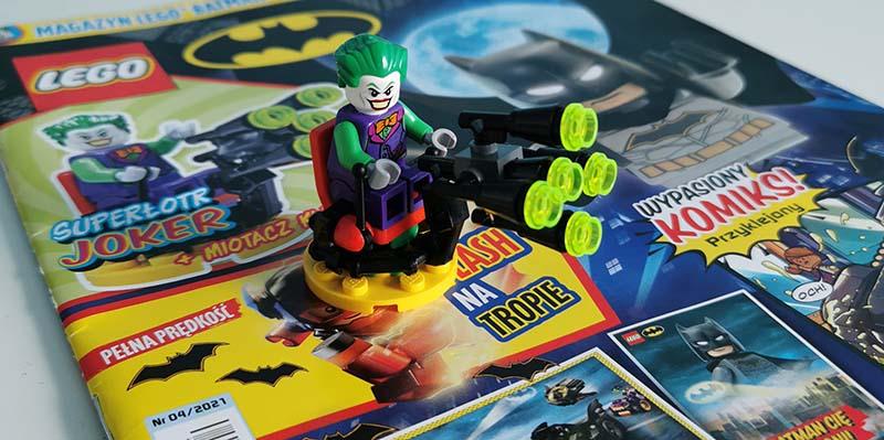 Magazyn Lego Batman 4/2021 recenzja