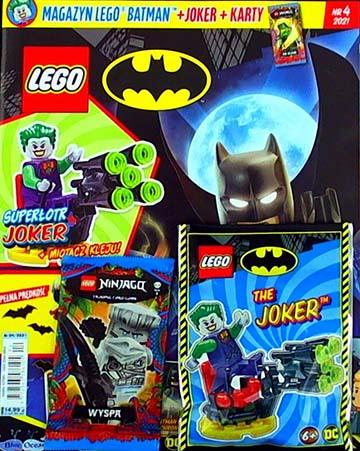 Magazyn Lego Batman 4/2021 okładka
