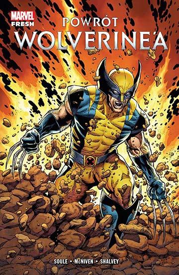 Powrót Wolverine'a okładka