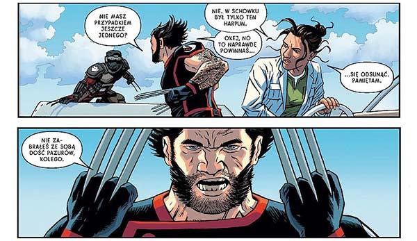 komiks Powrót Wolverine'a