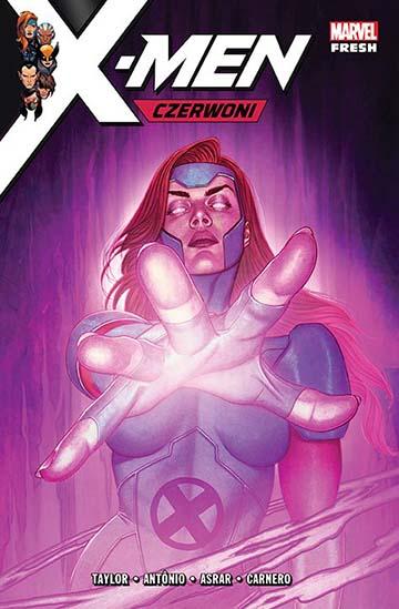 X-Men: Czerwoni okładka