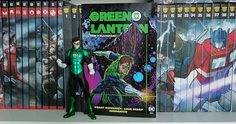 Green Lantern tom 3: Blackstars recenzja