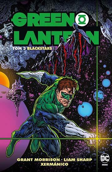 Green Lantern tom 3: Blackstars okładka