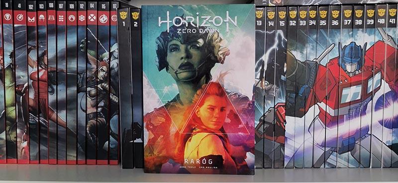 Horizon Zero Dawn tom 1: Raróg recenzja