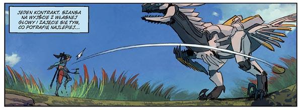 Komiks Horizon Zero Dawn tom 1: Raróg