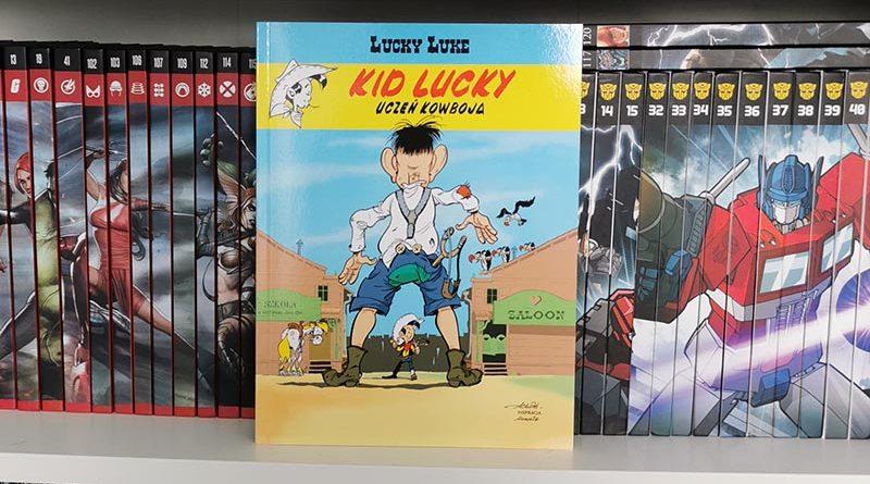 Kid Lucky tom 1: Uczeń kowboja recenzja