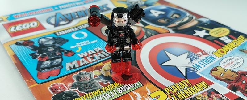 Magazyn Lego Avengers 4/2021 recenzja