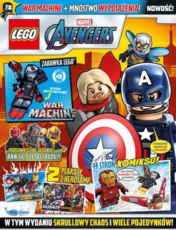 Magazyn Lego Avengers 4/2021 okładka