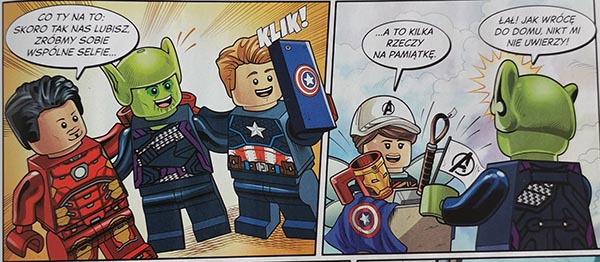 Magazyn Lego Avengers 4/2021
