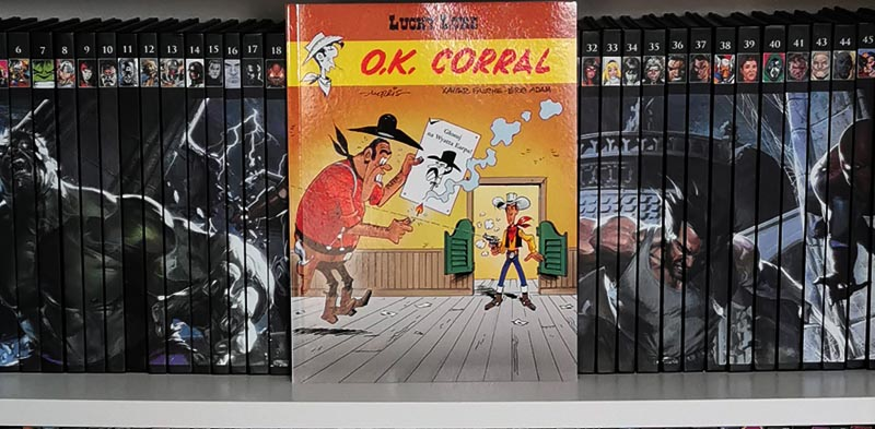 Lucky Luke tom 66: O.K. Corral recenzja
