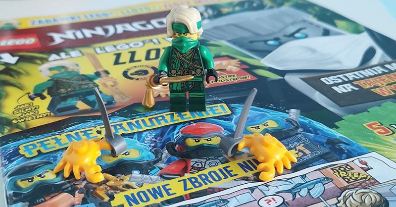 Magazyn Lego Ninjago 9/2021 recenzja