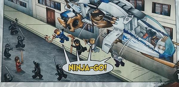 Magazyn Lego Ninjago Legacy 4/2021