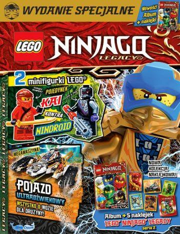 Magazyn Lego Ninjago Legacy 4/2021 okładka