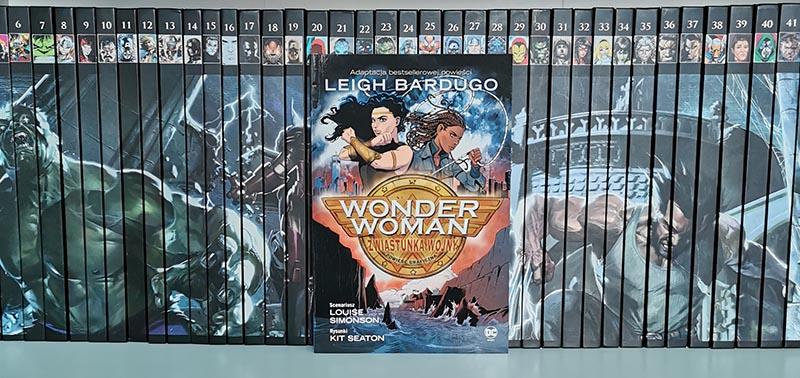 Wonder Woman: Zwiastunka wojny recenzja
